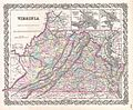 1855 Colton Map of Virginia - Geographicus - Virginia-colton-1855.jpg