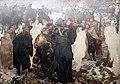 1860 Menzel Ansprache Friedrich des Großen vor der Schlacht bei Leuthen anagoria.JPG