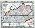 1862 Mitchell Map of Kentucky and Tennessee - Geographicus - KTTN-m-62.jpg