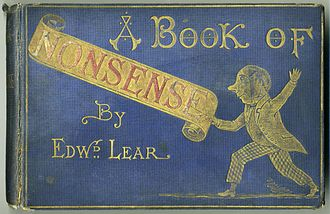 Nonsense - A Book of Nonsense (c. 1875 James Miller edition) by Edward Lear