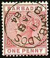 1884 1d Barbados Yv40 Mi33a.jpg