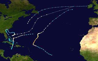 1884 Atlantic hurricane season hurricane season in the Atlantic Ocean