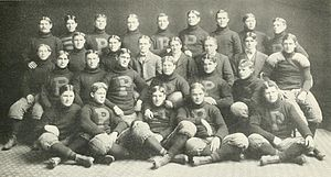1900 Purdue Boilermakers football team - Image: 1900 Purdue football team