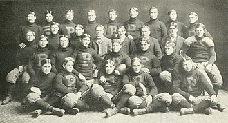 1900 Purdue Boilermakers football team - Image: 1900 Purdue football team