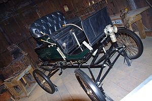 Carl Breer -  1901 Breer steam-powered car
