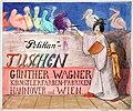 1909 anonymer Künstler, Plakatentwurf Pelikan-Tuschen Günther Wagner Künstlerfarben-Fabriken Hannover und Wien, Japanerin.jpg
