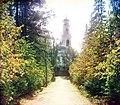 1910Харитоновский сад и Вознесенская церковь.jpg
