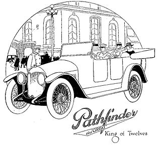 Pathfinder (1912 automobile) 1912 automobile model and the company producing it