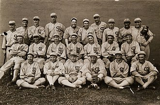 Black Sox Scandal - 1919 Chicago White Sox team photo