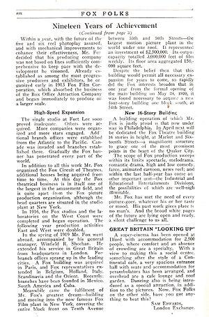 Alan E. Freedman - Image: 1922 Fox Folks Fox History 5