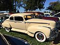 1946 Hudson Commodore Eight coupe at 2015 AACA Eastern Regional Fall Meet 4of7.jpg