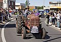 1955 McCormick International tractor as part of the Early Italian Settlers float in the SunRice Festival parade in Pine Ave.jpg