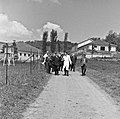 1957 Visite du ministre de l'agriculture Mr ANDRE DULIN au CNRZ-45-cliche Jean Joseph Weber.jpg