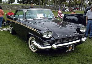 1957 and 1958 Packards - 1958 Packard 2-door hardtop coupe