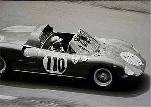 Willy Mairesse - Mairesse at the Nürburgring in 1963.