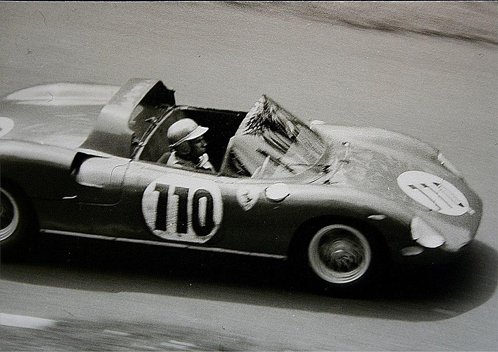 1963-05-19 Willy Mairesse, Nürburgring - Hatzenbach