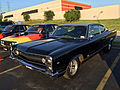 1967 AMC Marlin fastback at AMO 2015 meet in black and silver 3of6.jpg