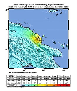 1970 New Guinea earthquake - ShakeMap.jpg