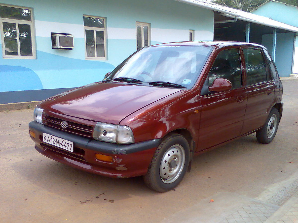 Maruti Suzuki Car Price In India