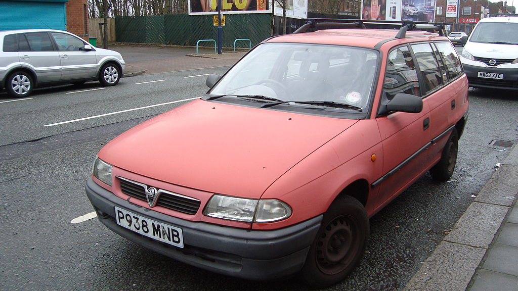 Vauxhall Astra Paint Code Location