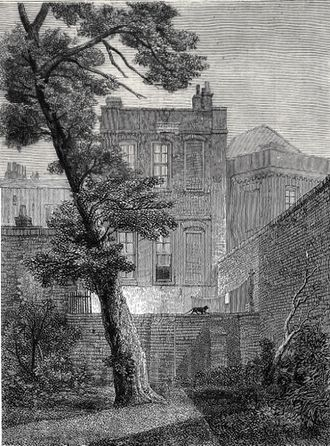 James Mill - Image: 19 York Street, Westminster (1848)