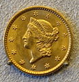 1 Dollar, United States of America, 1849 - Bode-Museum - DSC02639.JPG