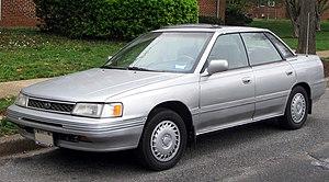 Subaru Legacy - Pre-facelift Subaru Legacy sedan (US)