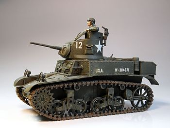 1to35 M3 Stuart Tank - Built in 1985.jpg