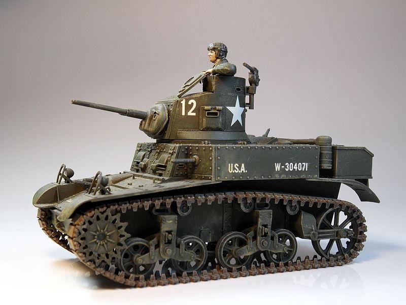 File:1to35 M3 Stuart Tank - Built in 1985.jpg