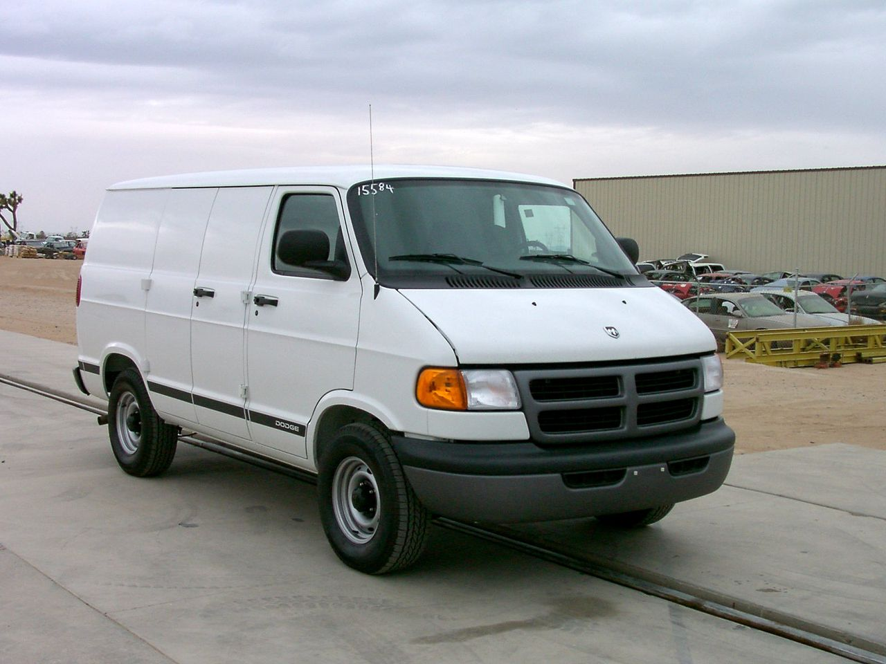 file 2001 dodge ram 1500 van nhtsa wikimedia. Black Bedroom Furniture Sets. Home Design Ideas