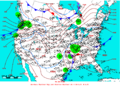 2006-01-10 Surface Weather Map NOAA.png