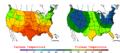2006-05-24 Color Max-min Temperature Map NOAA.png