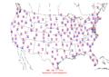 2006-07-10 Max-min Temperature Map NOAA.png