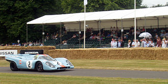 Goodwood Festival of Speed - 1970 Porsche 917 going up the hill at the 2006 Festival of Speed