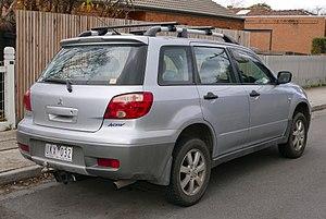 Mitsubishi Outlander - 2006 Mitsubishi Outlander Activ (Australia)