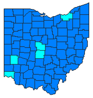 Ohio Democratic primary, 2008 - Image: 2008OHdemprimary