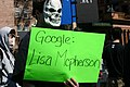 2008 03 Google Lisa McPherson protest sign.jpg