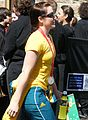 2008 Summer Olympics Australian Parade in Sydney - Anna Meares - Cycling 4.jpg