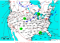 2009-05-23 Surface Weather Map NOAA.png