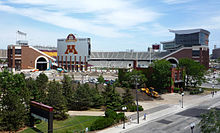 Photographie du TCF Bank Stadium