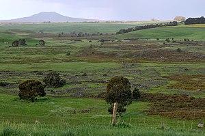 Mount Napier - Image: 20090916 Harmans Valley looking to Mt Napier (2)