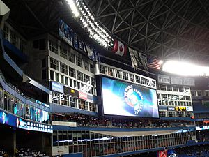 English: In stadium ad for the 2009 WBC shown ...