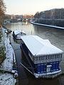 2012-02-04 Snow on Tiber boat in Rome.JPG