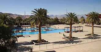 M Resort - Pool area