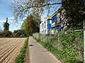 20130505 Maastricht 34 Bicycle path between Itteren and Borgharen; office buildings of Sibelco on the right..JPG