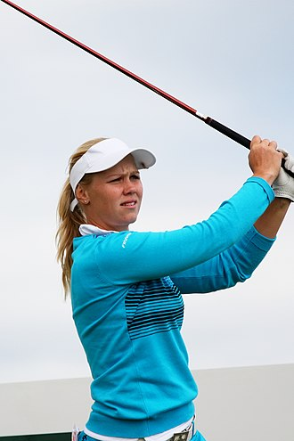 Minea Blomqvist - Blomqvist at the 2013 Women's British Open