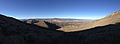 2014-10-03 08 14 48 Panorama south and west from a saddle north of Alpha Peak in the Diamond Mountains, Nevada.JPG