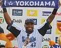 20140923 Tony Hemiphere Blanco, infielder of the Yokohama DeNA BayStars, at Yokohama Stadium.JPG