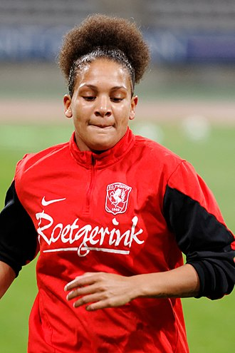 Shanice van de Sanden - Shanice van de Sanden, PSG-Twente, 2014-15 UEFA Women's Champions League