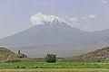 2014 Prowincja Ararat, Widok na Mały Ararat (04).jpg